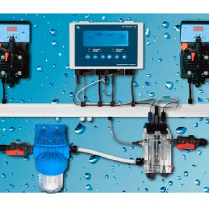 Автоматическая станция Pool Guard 7 PH/CL/T 5л/ч - 7бар PANEL (SCL 0-2 ppm)