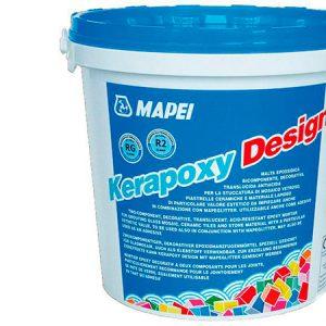 Затирка швов эпоксидная Mapei Kerapoxy Design №799 (белый) 3 кг.