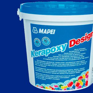 Затирка швов эпоксидная Mapei Kerapoxy Design №740 (синий) 3 кг.