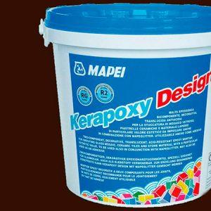 Затирка швов эпоксидная Mapei Kerapoxy Design №731 (темно-коричневый) 3 кг.