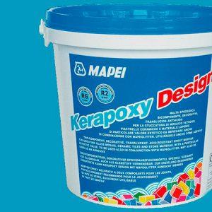 Затирка швов эпоксидная Mapei Kerapoxy Design №730 (бирюзовый) 3 кг.