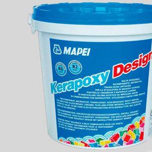 Затирка швов эпоксидная Mapei Kerapoxy Design №710 (белоснежный) 3 кг.