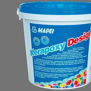 Затирка швов эпоксидная Mapei Kerapoxy Design №703 (серый) 3 кг.