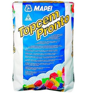 Стяжка полусухая Mapei Topcem pronto 25 кг.