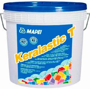 Клей для плитки Mapei Keralastic T белый 5 кг.