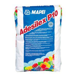 Клей для плитки Mapei Adesilex P10 белый 25 кг.