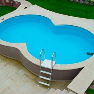 Бассейн восьмерка Sunny Pool